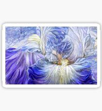 Wild Iris Blue Sticker