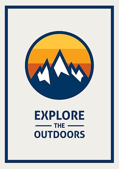«Explore the Outdoors (1ra Edición)» de Elliot Belchatovski