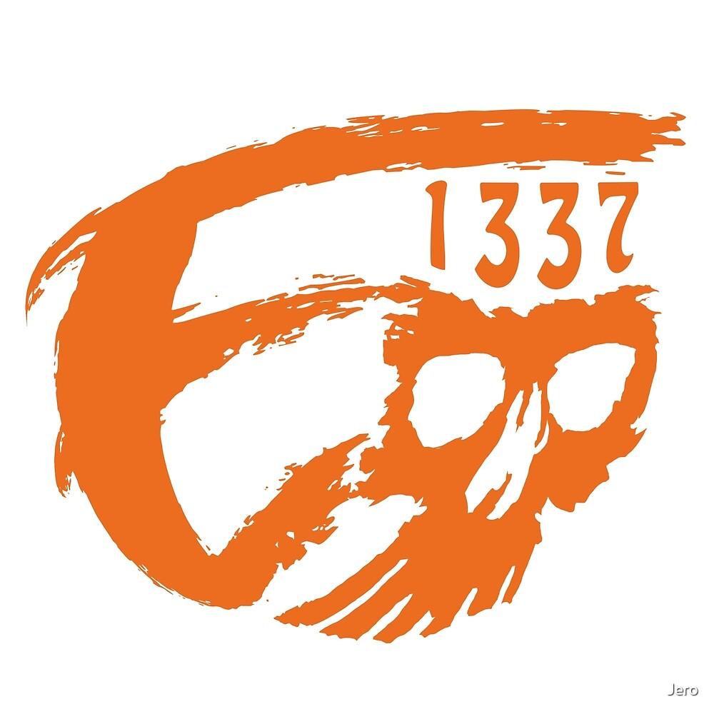 E1337 Skull by Jero