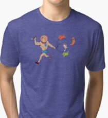 Brock Samson and Cats In Space Tri-blend T-Shirt