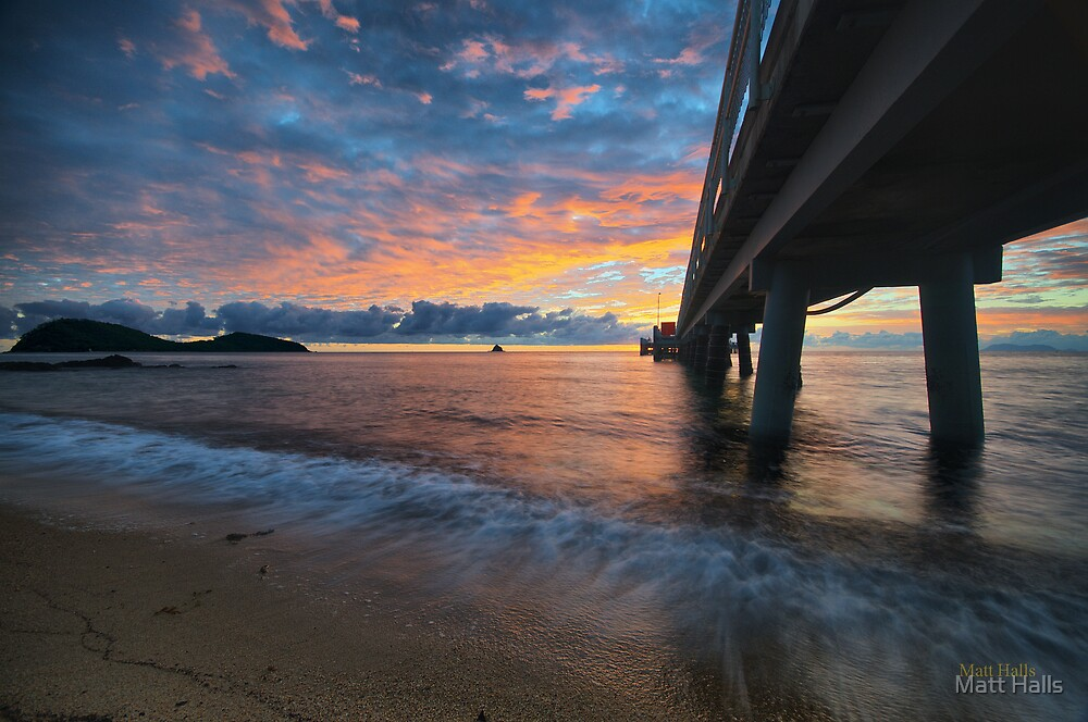 Daybreak at Palm Cove Jetty by Matt Halls
