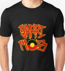 Yarri Mob Graffiti - Aboriginal Flag 5 Unisex T-Shirt