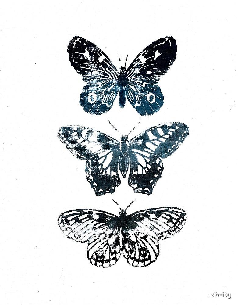 Butterfly Tattoo by zibziby