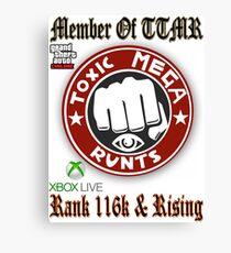 The Toxic Mega Runts (TTMR) Canvas Print