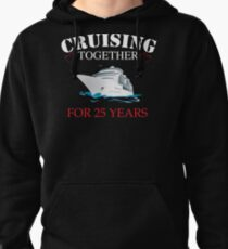Meaningful  T-shirt For 25th Wedding Anniversary, Funny Anniversary Gifts For Women Pullover Hoodie