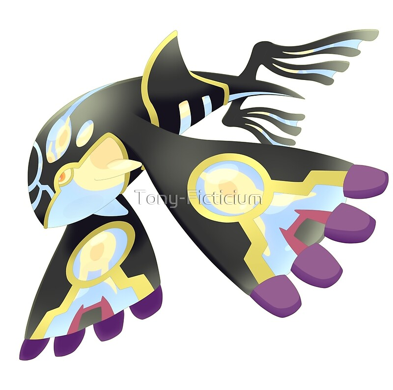 """""""Shiny Primal Kyogre"""" Posters by Tony-Ficticium 