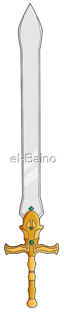 Fire Emblem - Alondite  by el-Baino