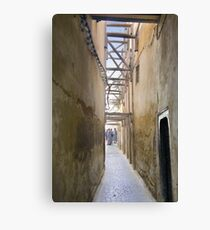 In the Medina, Fes Canvas Print