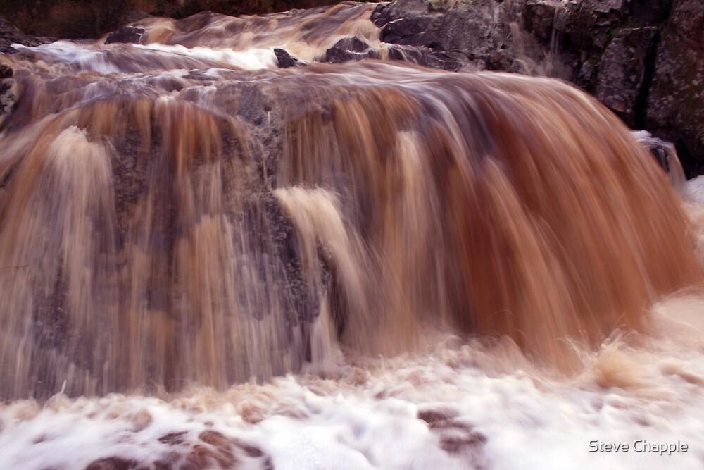 Raining Earth. by Steve Chapple