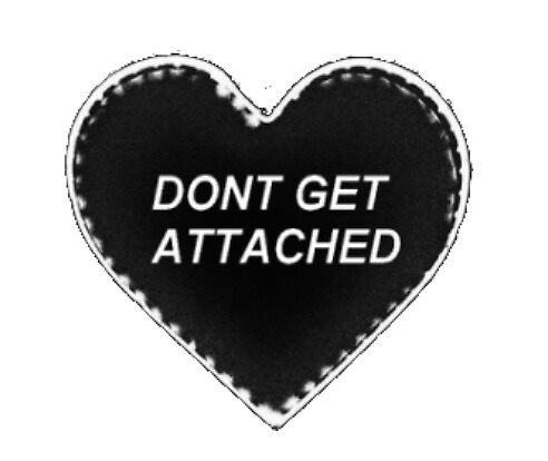 Dont Get Attached Heart by skash16