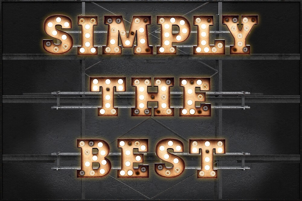 Simply the Best by Art-Frankenberg