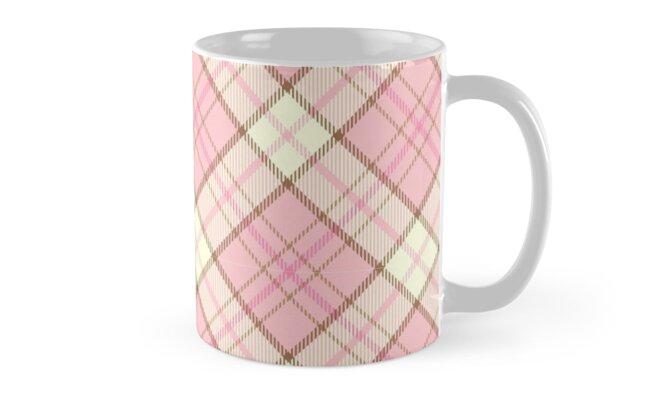 soft pink Yellow Kilim Ethnic Texture by PineLemon