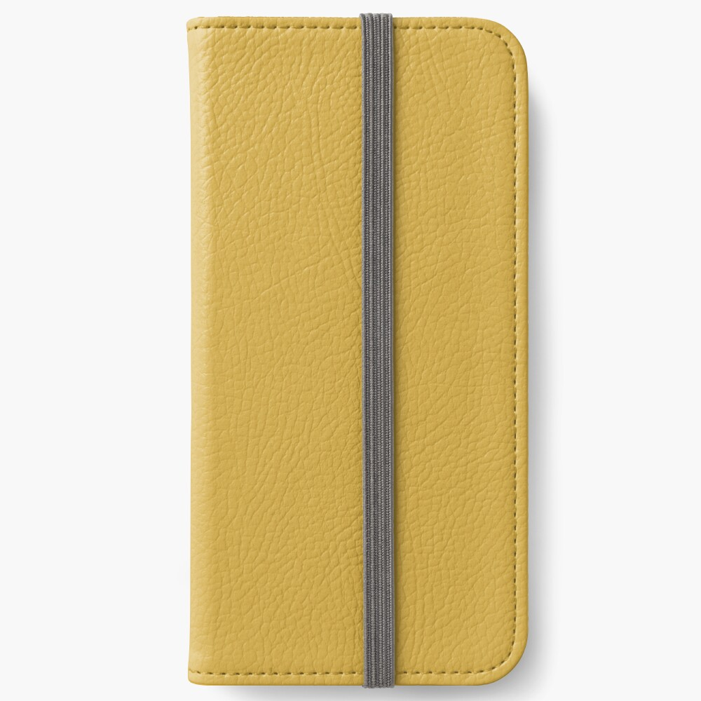Spicy Mustard 14-0952 TCX | Pantone | Color Trends | Fall Winter 2016 | Solid Colors | Fashion Colors | iPhone Wallet