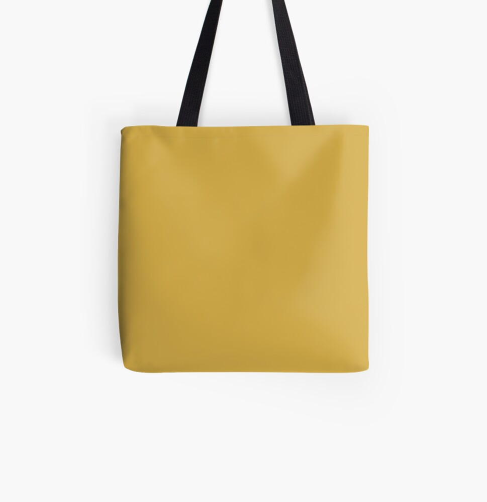 Spicy Mustard 14-0952 TCX   Pantone   Color Trends   Fall Winter 2016   Solid Colors   Fashion Colors   All Over Print Tote Bag