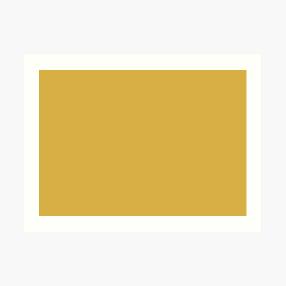 Spicy Mustard 14-0952 TCX   Pantone   Color Trends   Fall Winter 2016   Solid Colors   Fashion Colors   Art Print
