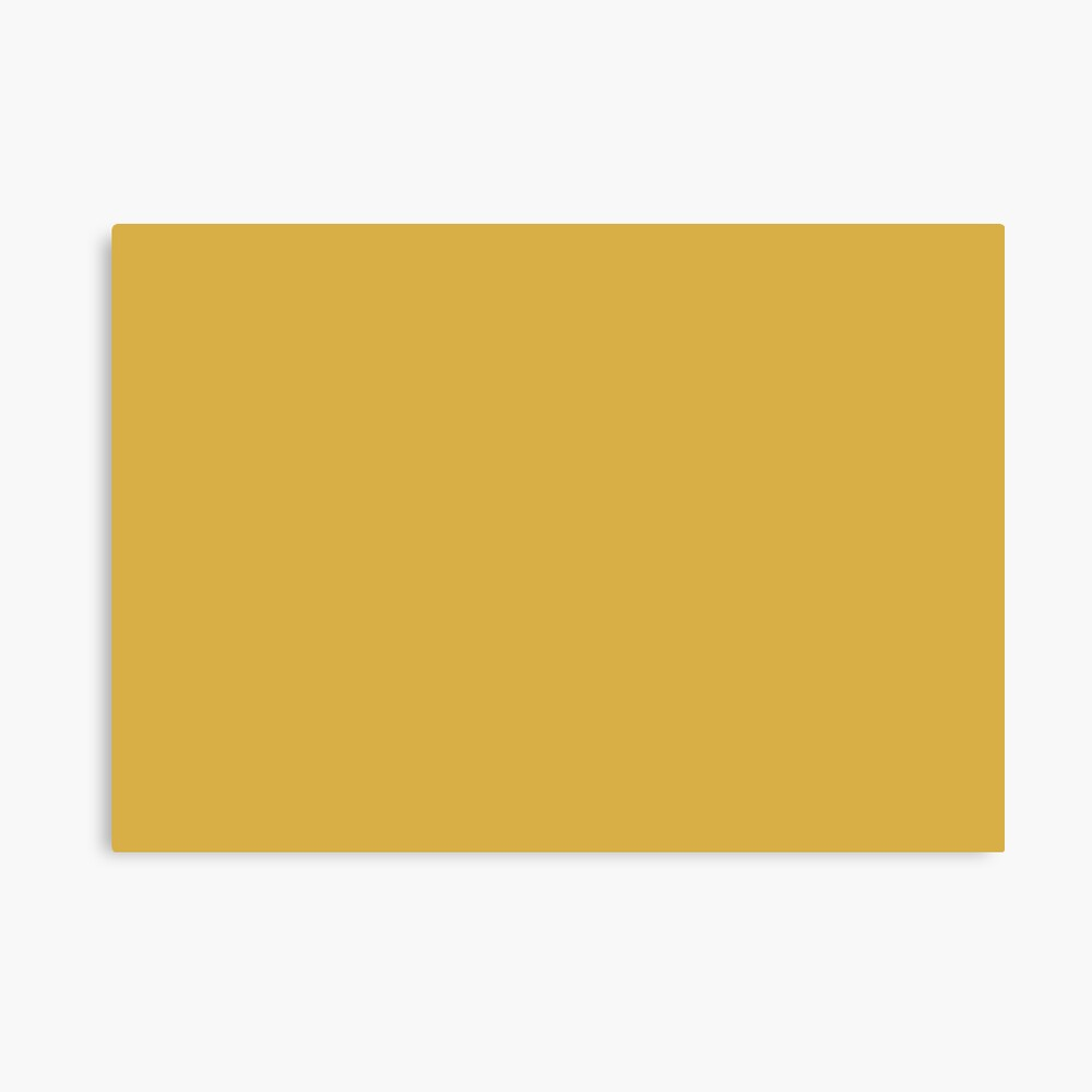 Spicy Mustard 14-0952 TCX | Pantone | Color Trends | Fall Winter 2016 | Solid Colors | Fashion Colors | Canvas Print