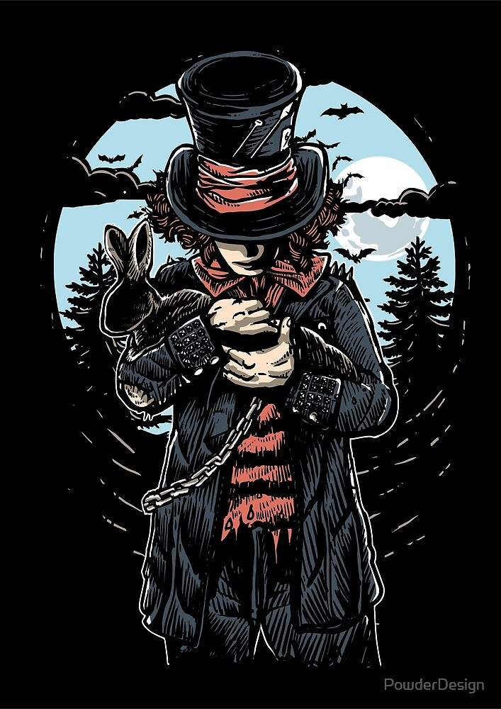Mad Hatter by PowderDesign