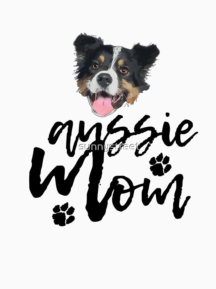 Dog Breed Aussie Mom by SunnyStreet