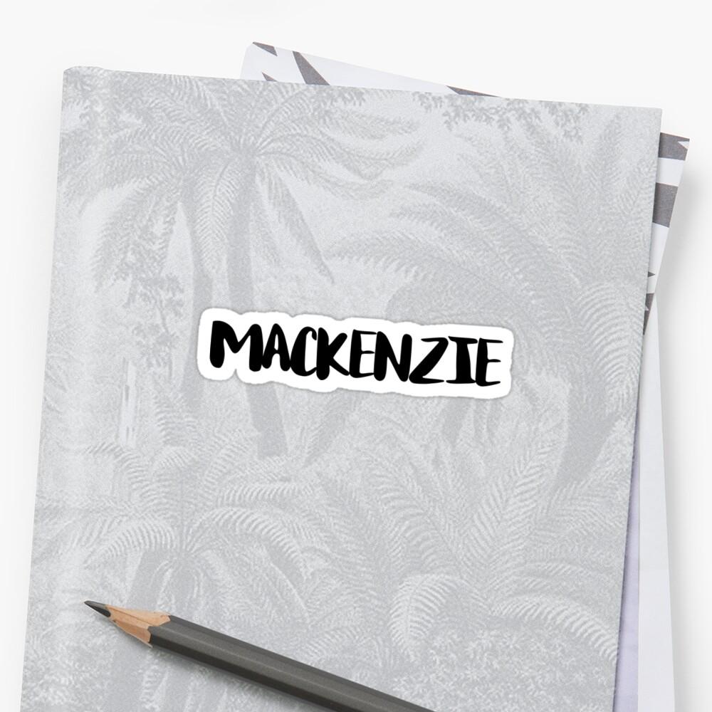 Mackenzie by FTML