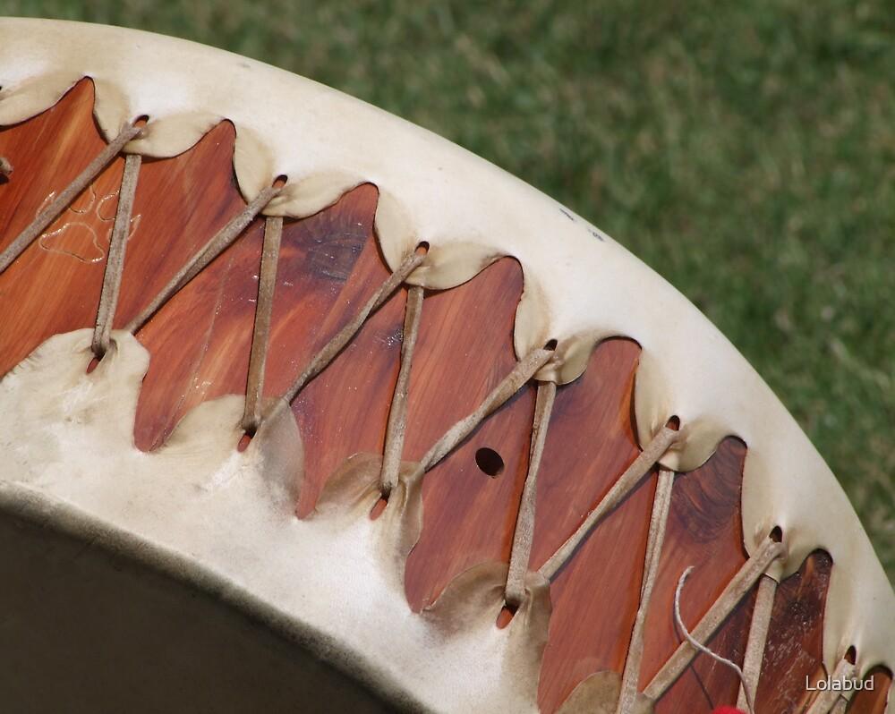 Native American  Drum lolabud by Lolabud