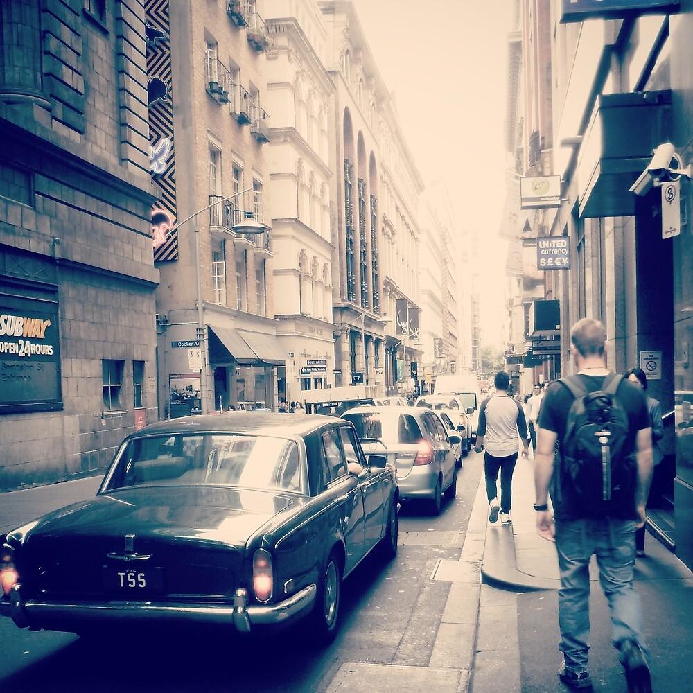 Vintage times in Melbourne by jamies-art