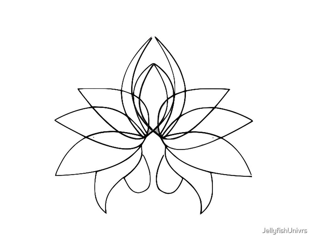 Lotus Lines by JellyfishUnivrs