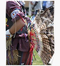 Native American Pow Wow lolabud Poster