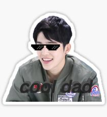 s.coups cool dad sticker Sticker