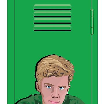 Brian of The Breakfast Club by ArtiStickFigure