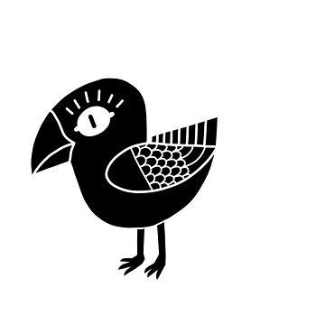 Little Crow by Naivuren
