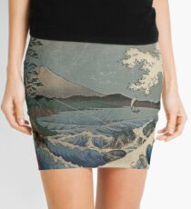 Fuji and the Sea of Satta  Mini Skirt