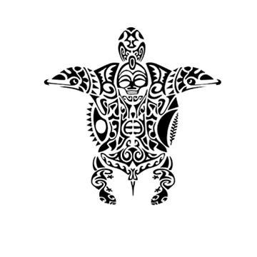 Turtle Maori t-shirt by GregBraga
