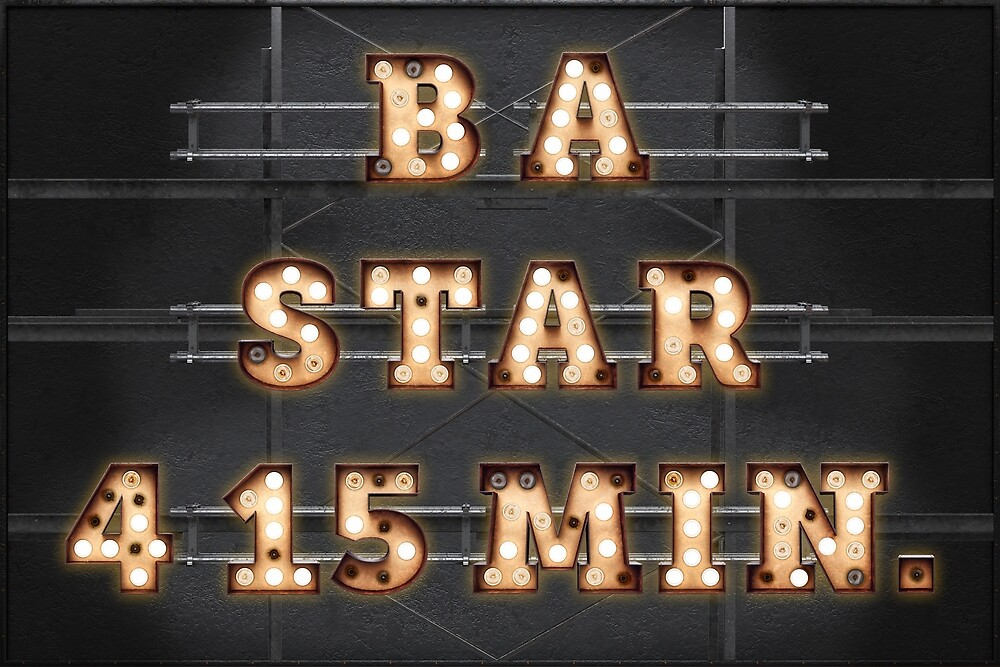 B A Star 4 15 Min. - Bulb by Art-Frankenberg