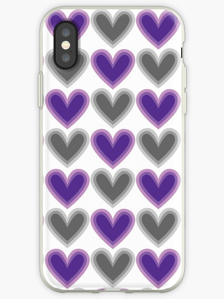Hearts Beat (Purple) Pattern by KristyKate