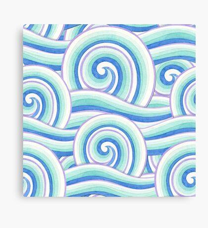 Auspicious Waves Canvas Print