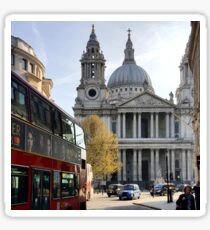 St Paul's Cathedral - Quite the London Icon Sticker