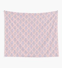 Damask Pattern | Rose Quartz and Serenity | Pantone Colors of the Year 2016 Wall Tapestry