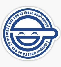 The Laughing Man Sticker