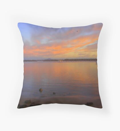 Colaboration with Martin Becker Throw Pillow