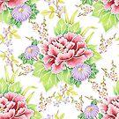 Kimono Bouquet Chintz by PatriciaSheaArt