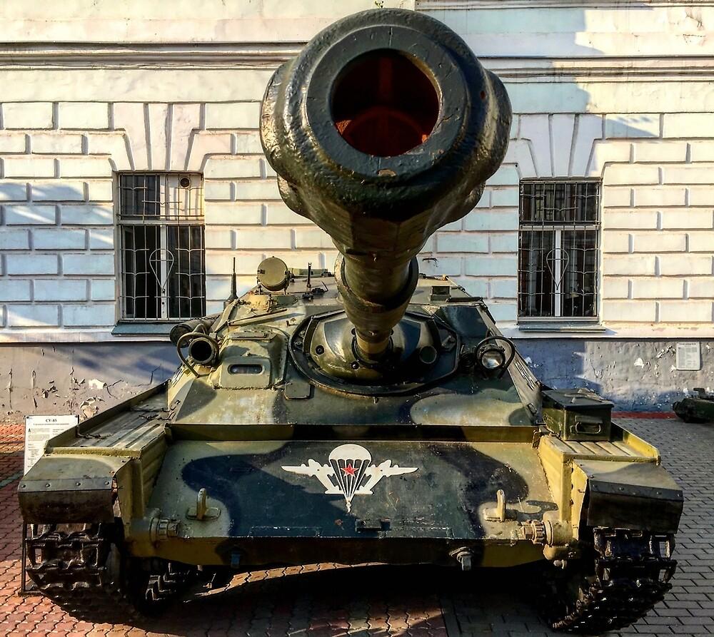 Airborne tank by Mikhail Zhirnov