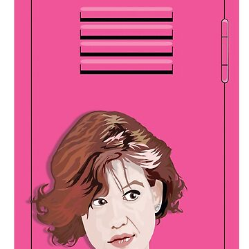 Claire of The Breakfast Club by ArtiStickFigure