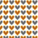 Hearts Beat (Gold) Pattern by KristyKate