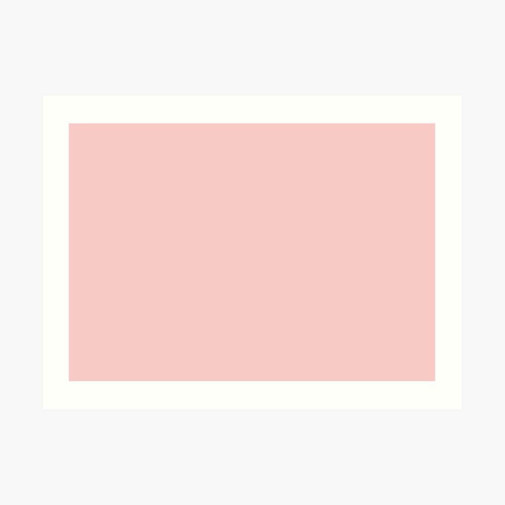 Rose Quartz 13-1520 TCX   Pantone Color of the Year 2016   Pantone   Color Trends   Solid Colors   Fashion Colors   Art Print
