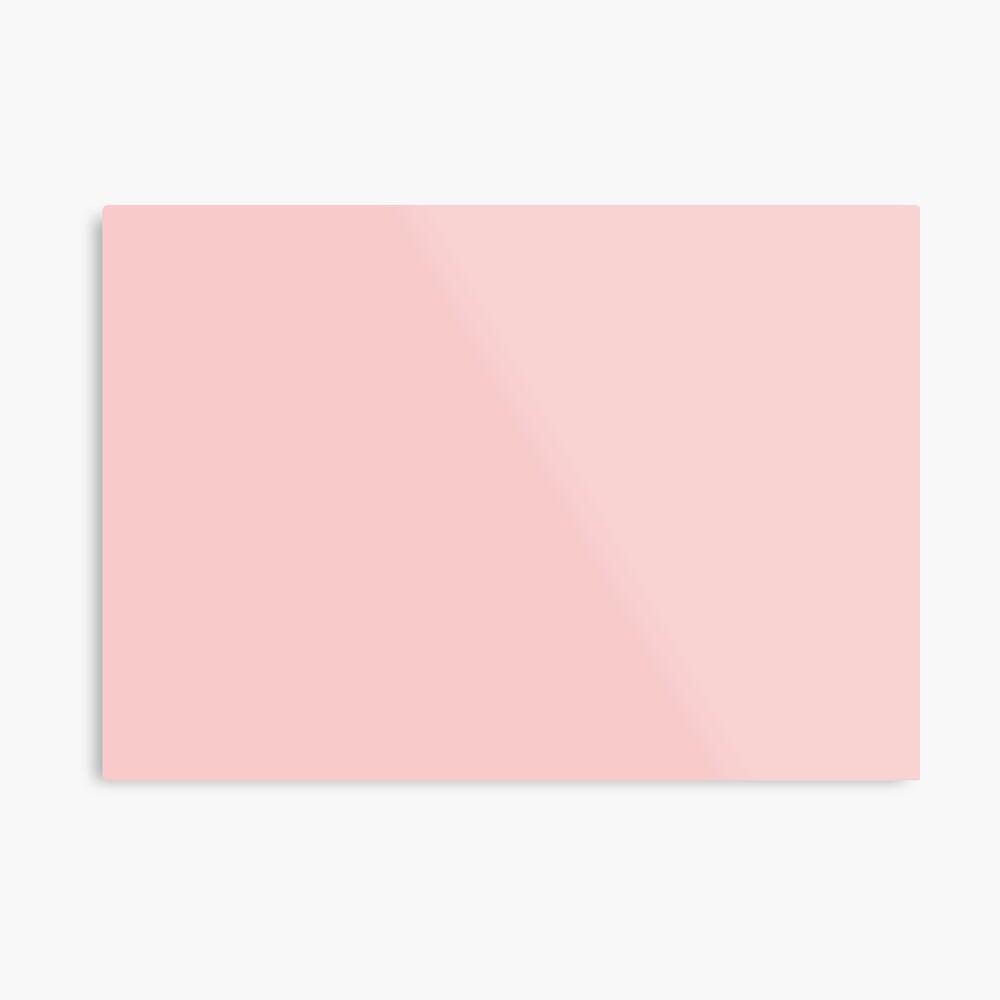 Rose Quartz 13-1520 TCX | Pantone Color of the Year 2016 | Pantone | Color Trends | Solid Colors | Fashion Colors | Metal Print