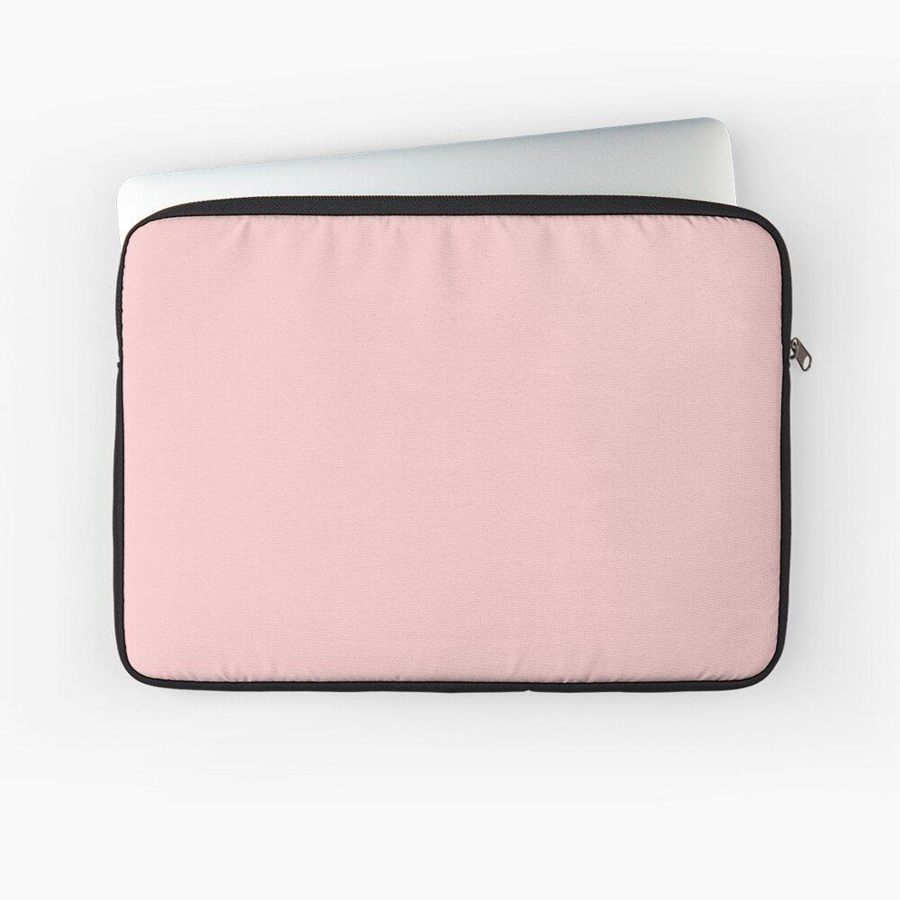 Rose Quartz 13-1520 TCX | Pantone Color of the Year 2016 | Pantone | Color Trends | Solid Colors | Fashion Colors | Laptop Sleeve