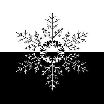 Christmas . Snowflake  by fuzzyfox