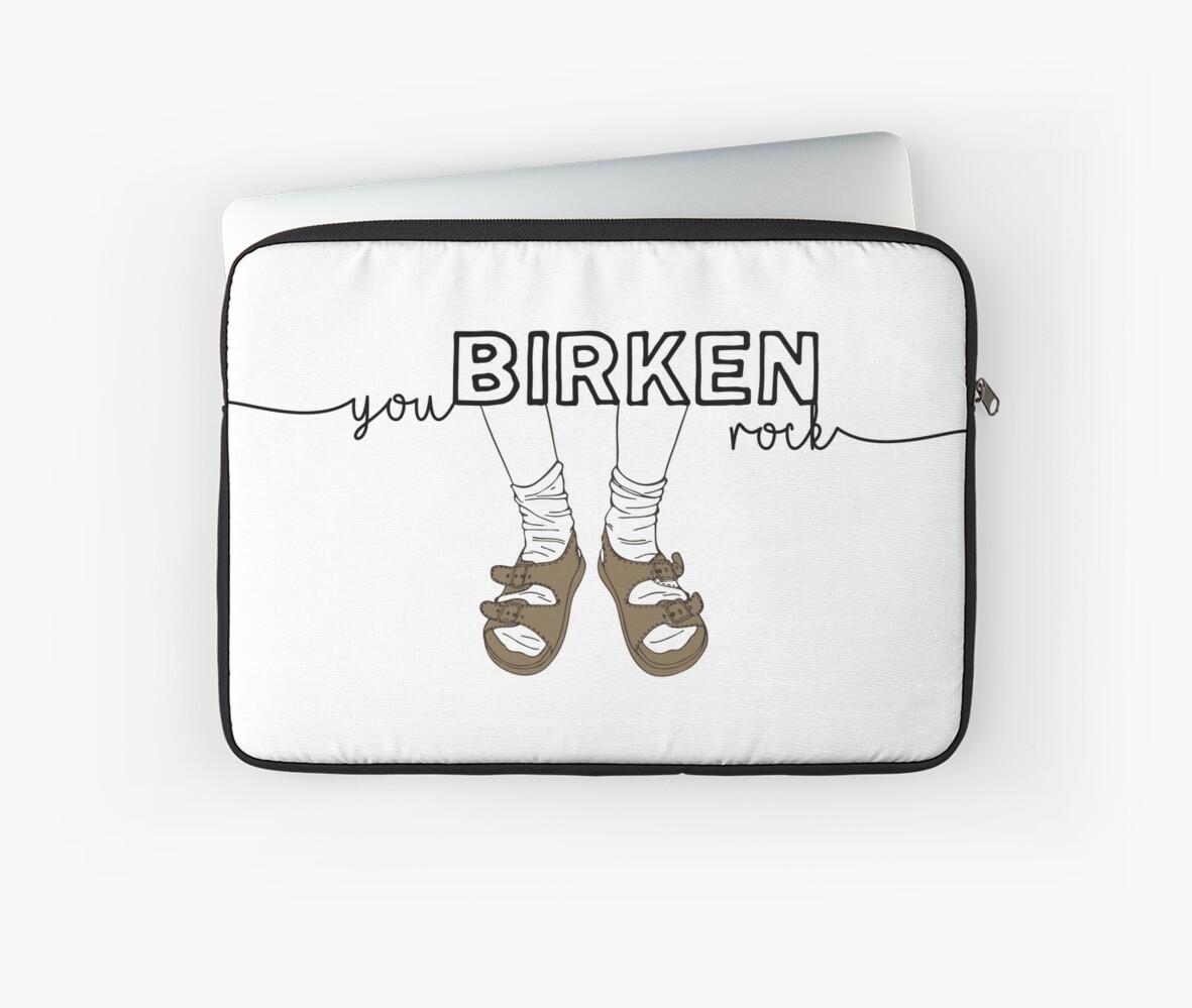 You BIRKEN Rock Sock Sandal by PineLemon