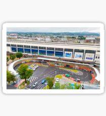 Koriyama Station Sticker