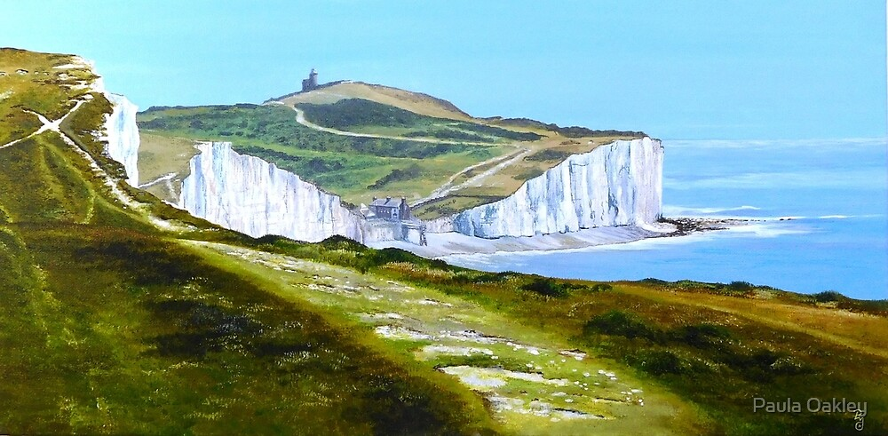 Over The Seven Sisters by Paula Oakley